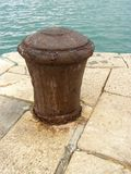 Port bollard Stock Photo