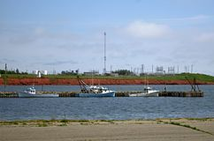 Port Borden Prince Edward Island royaltyfria bilder