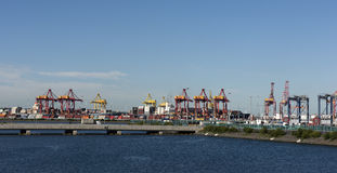 Port Botany Cargo Shipping Container Terminal Royalty Free Stock Photography