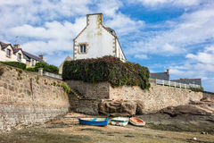 Port in Brittany Stock Photography