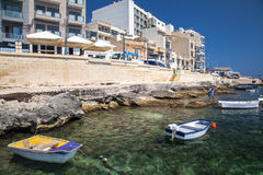 Port at Buggiba, Malta Royalty Free Stock Images