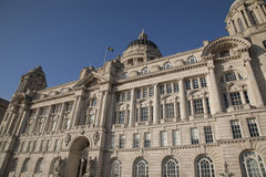 Port Building; Pier Head; Liverpool; England; UK Royalty Free Stock Photo
