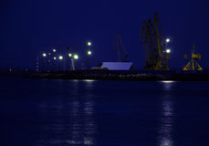 Port of Burgas Stock Photos