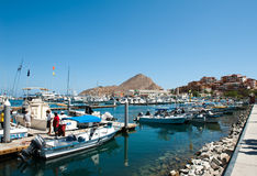 Port of cabo san lucas Stock Photography