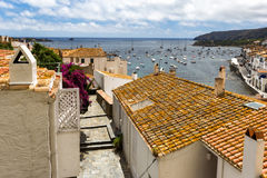 The port of Cadaques. Port of Cadaques in Spain royalty free stock images