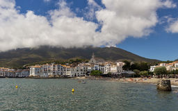 The port of Cadaques. Port of Cadaques in Spain royalty free stock photos