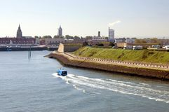 Port of Calais Royalty Free Stock Photos