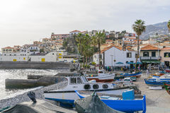 Port in Camara de Lobos Stock Image