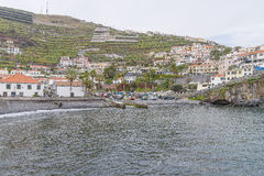 Port in Camara de Lobos Stock Photo