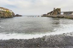 Port in Camara de Lobos Royalty Free Stock Photo