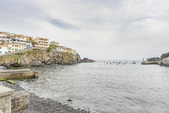 Port in Camara de Lobos Royalty Free Stock Photography