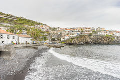 Port in Camara de Lobos Royalty Free Stock Photo