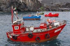 Port in Camara de Lobos Royalty Free Stock Photography