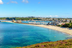 Port of Camaret sur Mer in Brittany Royalty Free Stock Photo