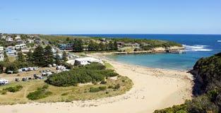 Port Campbell, grande route d'océan, Australie image libre de droits