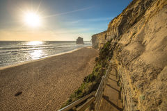 Port Campbell National Park: Gibson Steps Stock Images