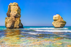Port Campbell National Park: Gibson Steps Royalty Free Stock Images