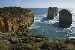 Port Campbell National Park - grande route d'océan Image stock