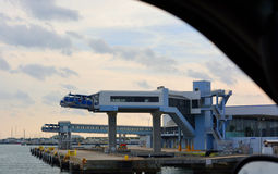 Port Canaveral de côté nord images stock