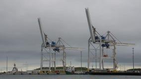 Port Canaveral för Tid schackningsperiod lager videofilmer