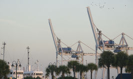 Port Canaveral florida stock photography