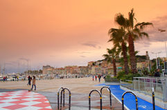 Port of Cannes entrance,France Stock Photos