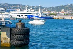 Port of Cannes, France Stock Photography