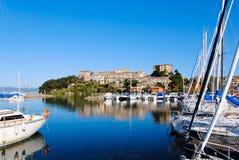Port of Capodimonte Royalty Free Stock Photo