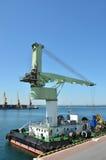 Port cargo crane Stock Image