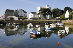 Port of Carnac in France Stock Photography