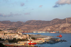 Port of Cartagena, Spain Royalty Free Stock Photo