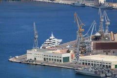 Port of Cartagena, Spain Stock Photo