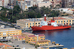 Port of Cartagena, Spain Royalty Free Stock Images