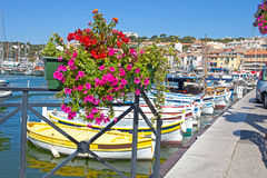 Port of Cassis Stock Image