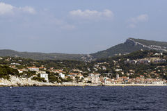 Port of Cassis in France Stock Images