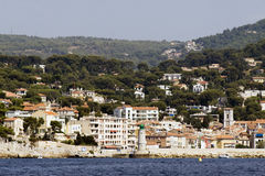 Port of Cassis in France Royalty Free Stock Photo