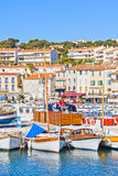 Port in Cassis, French Riviera Royalty Free Stock Image