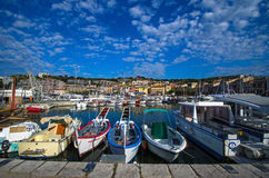 Port Cassis stock images