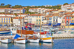 Port of Cassis, south of France Royalty Free Stock Images