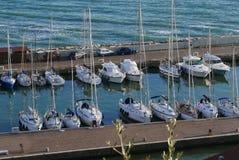 The port of Castiglione della Pescaia stock photography
