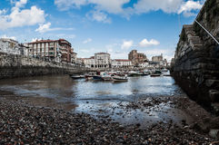 The Port of Castro Urdiales Royalty Free Stock Image