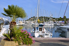 Port of Cavalaire-sur-Mer in France Royalty Free Stock Image