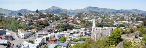 Port Chalmers Panorama Photo libre de droits