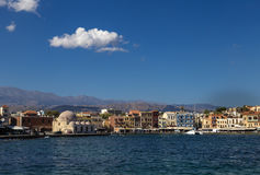 Port of Chania, Crete Royalty Free Stock Photography