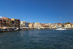 Port of Chania, Crete Stock Photography