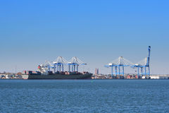 Port of Charleston, South Carolina, USA Royalty Free Stock Image