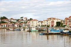 Port Ciboure Zdjęcia Royalty Free
