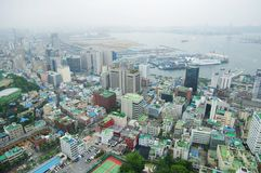 Port City of Busan Royalty Free Stock Photography