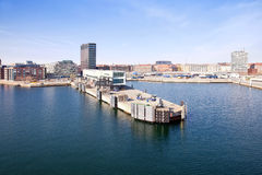 In the port city of Copenhagen Stock Photo