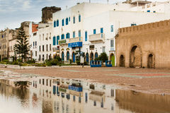 Port city Essaouira in Morocco. Royalty Free Stock Photos
